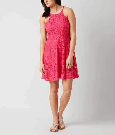 Fire Lace Dress