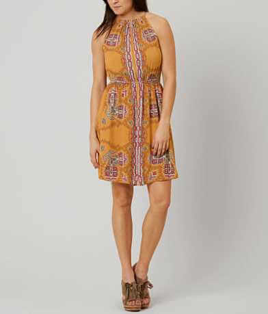 Fire Printed Dress