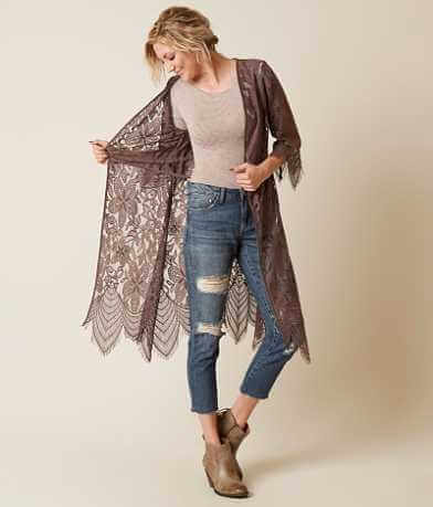 Daytrip Lace Duster Cardigan