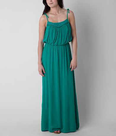 Fire Crinkle Maxi Dress