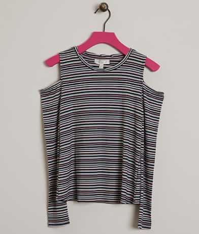 Girls - Fire Striped Top