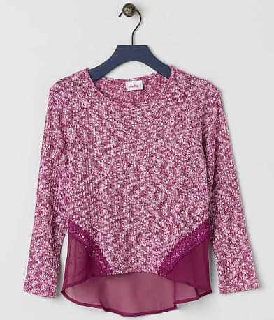Girls - Daytrip Pieced Sweater