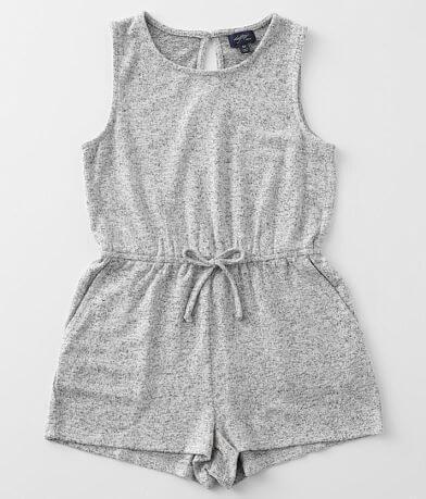 Girls - Daytrip Brushed Knit Tank Romper