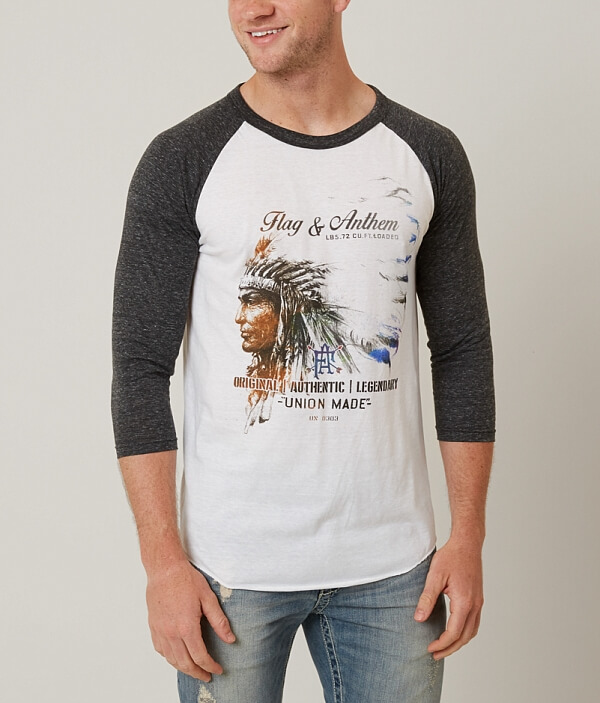 T amp; Monroe Flag Shirt Anthem tawxxAUdq6