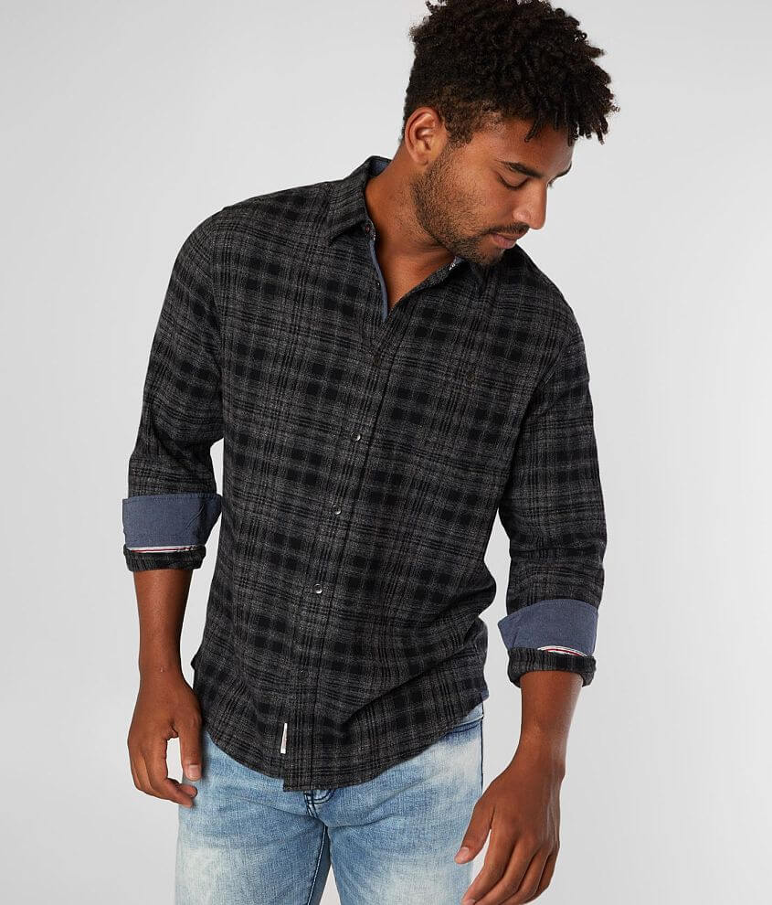 Flag & Anthem Rowland Plaid Flannel Shirt front view