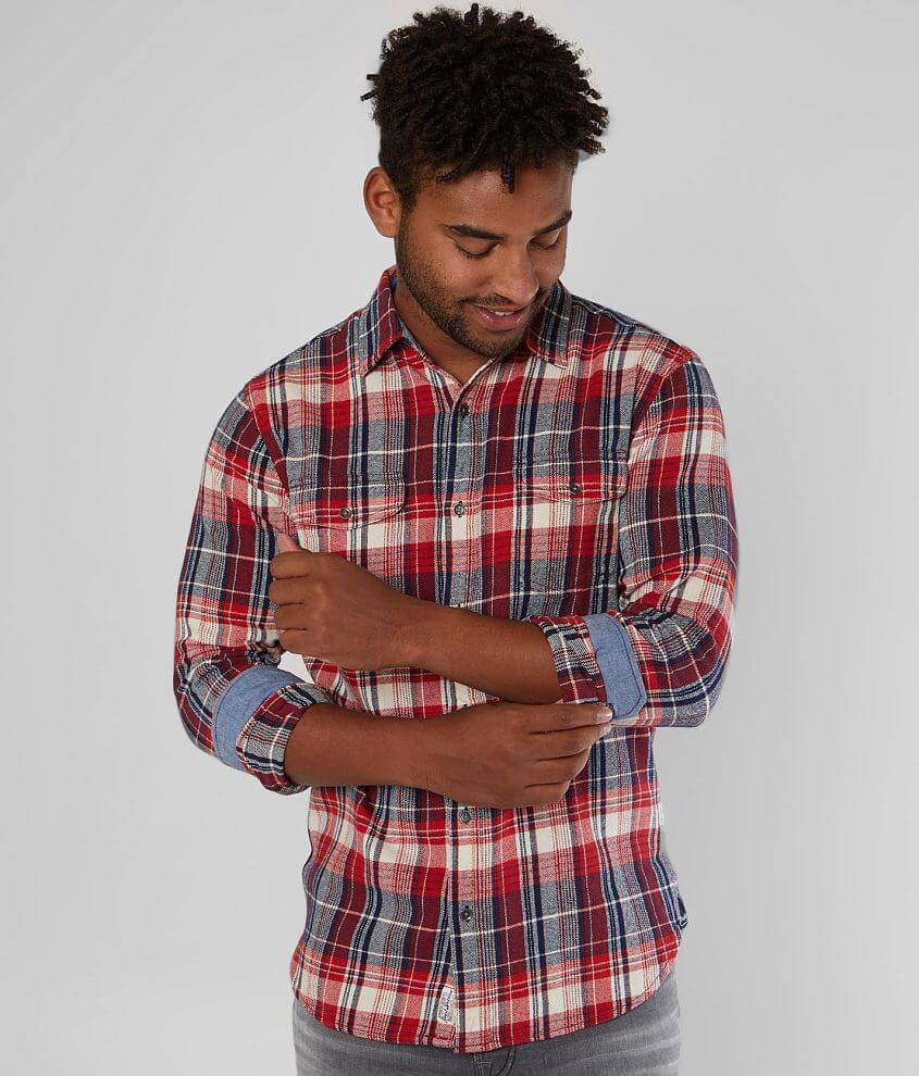 Flag & Anthem Lowell Ville Flannel Shirt front view