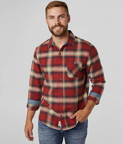 Flag & Anthem Sanders Plaid Flannel Shirt