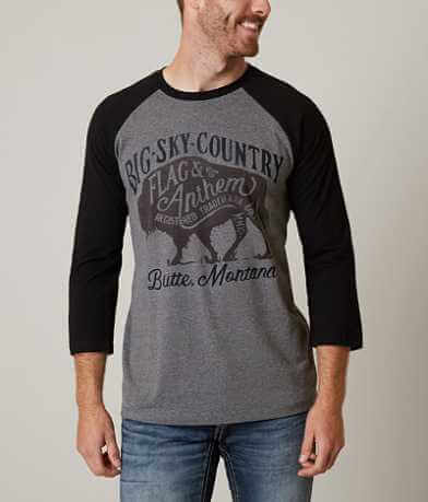 Flag & Anthem Big Sky Montana T-Shirt