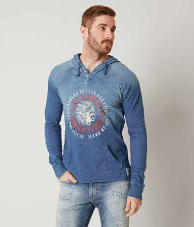 Flag & Anthem Native Hooded Henley Sweatshirt