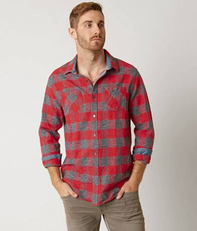 Flag & Anthem Red Check Flannel Shirt