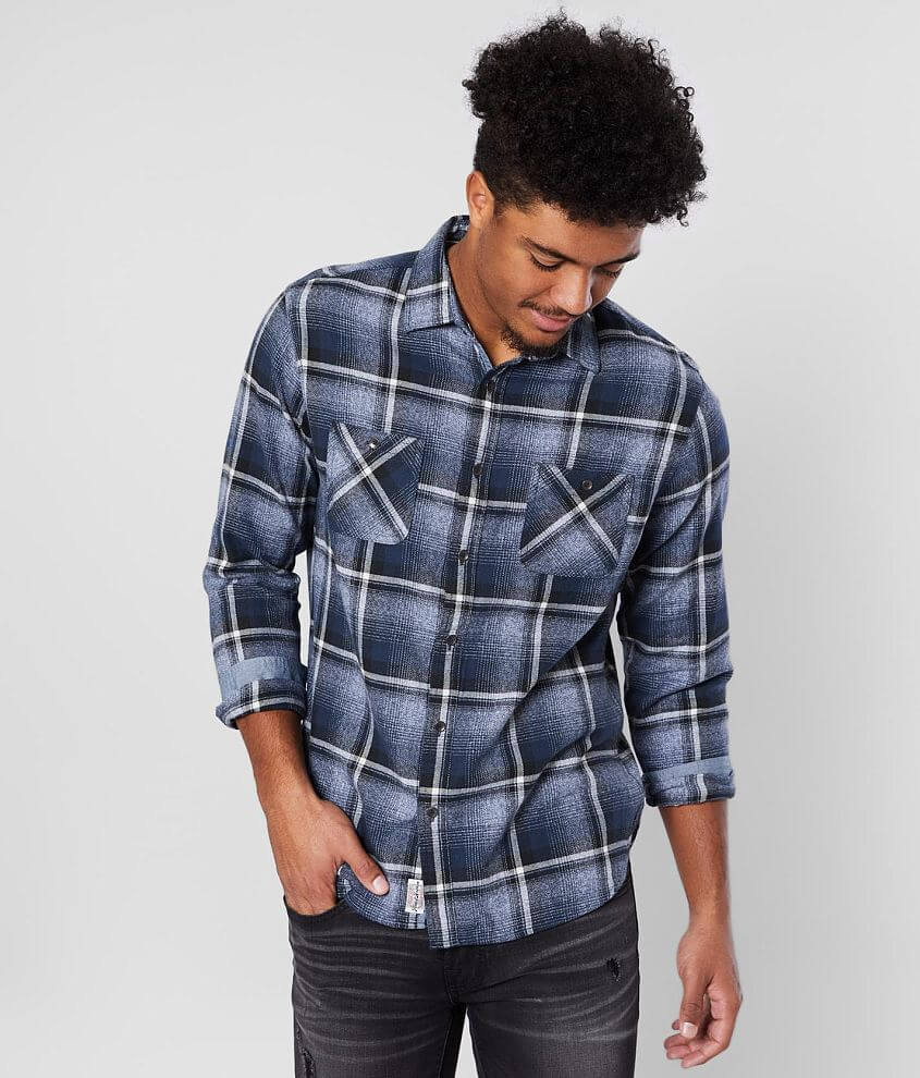 Flag & Anthem Penwell Flannel Shirt front view