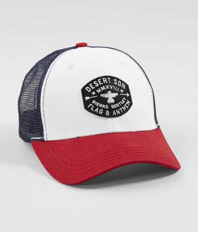 Flag & Anthem Riser Badge Trucker Hat