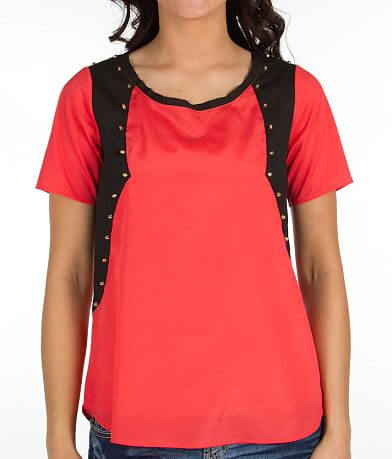 BKE Boutique Studded Top