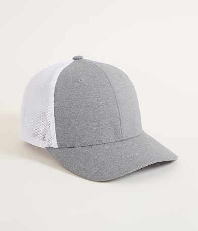 Yupoong Heathered Stretch Trucker Hat