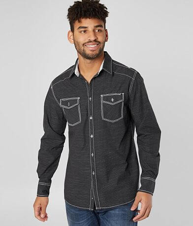 BKE Pinstripe Athletic Shirt