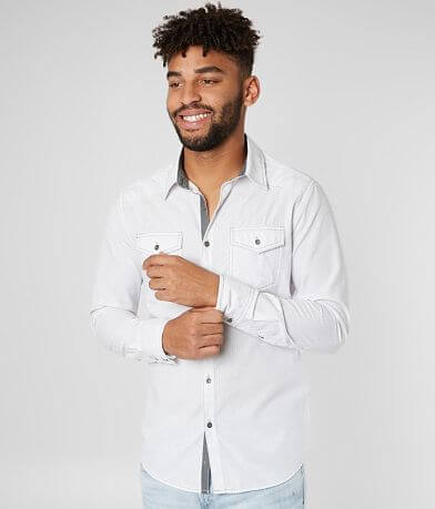 BKE Tonal Stripe Tailored Shirt