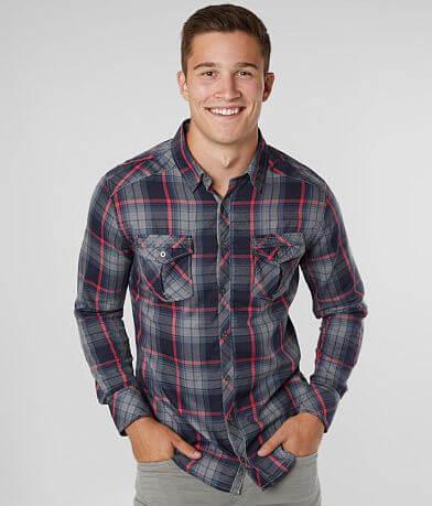 BKE Plaid Tailored Shirt