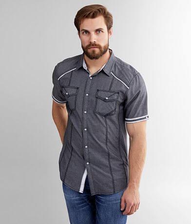 BKE Pinstriped Athletic Shirt