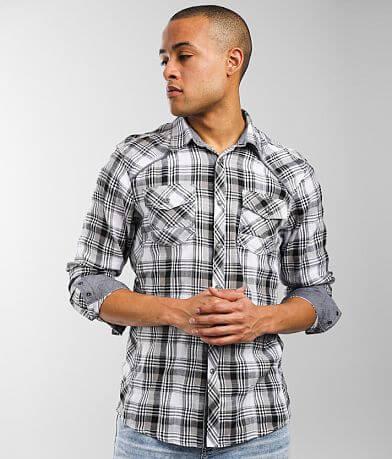 BKE Plaid Athletic Shirt