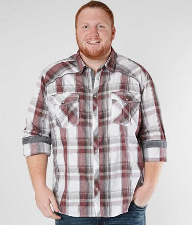 BKE Plaid Shirt - Big & Tall