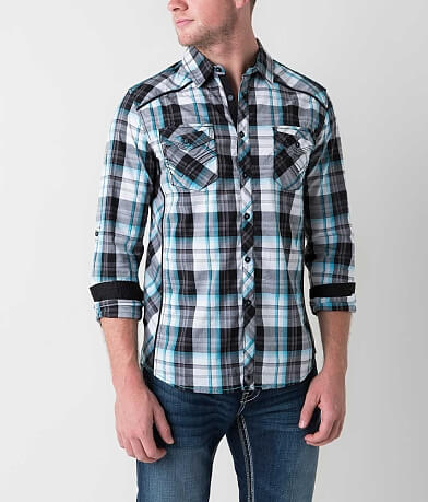Buckle Black Good Stretch Shirt