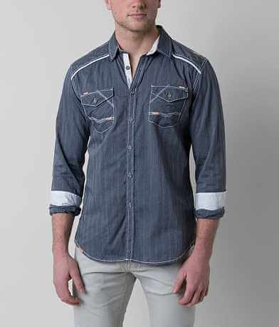 Buckle Black Too Young Stretch Shirt