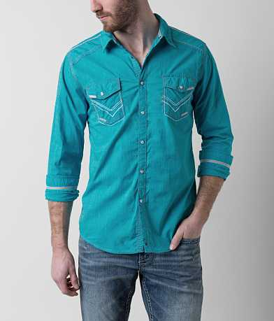 Buckle Black Near The Water Stretch Shirt