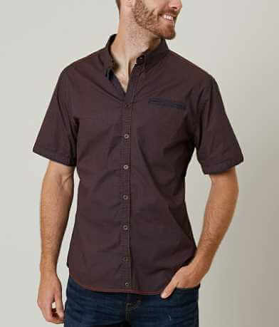 Buckle Black Dark As Stretch Shirt