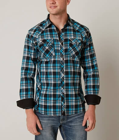Buckle Black So Close Stretch Shirt