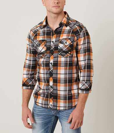 Buckle Black Let Me Down Stretch Shirt