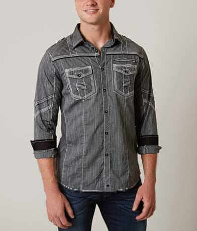Buckle Black Heartbeat Stretch Shirt