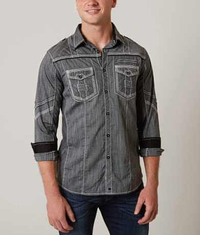 Buckle Black Heartbeat Stretch Shirt