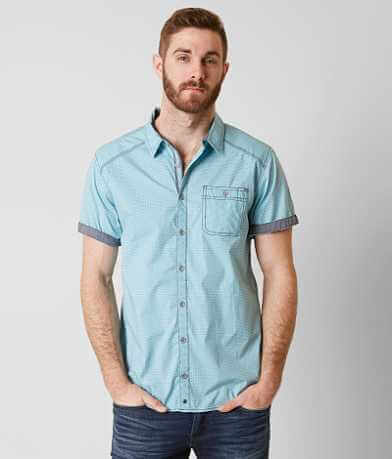 Buckle Black Helotes Stretch Shirt