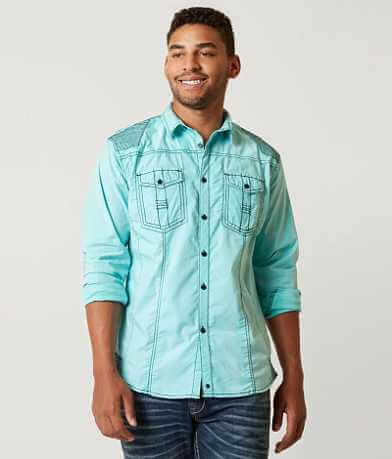 Buckle Black For Me Stretch Shirt