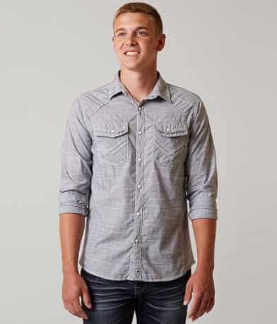 Buckle Black Traveled Stretch Shirt