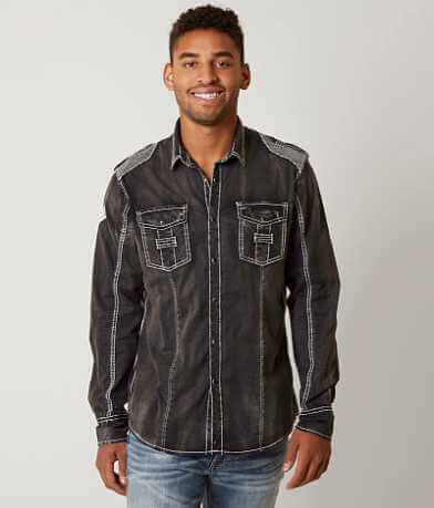 Buckle Black Blackout Stretch Shirt
