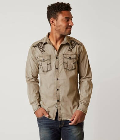 Buckle Black Ingram Stretch Shirt