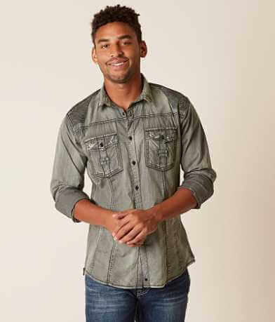 Buckle Black Idalou Stretch Shirt