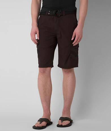 Buckle Black Mirror Cargo Short