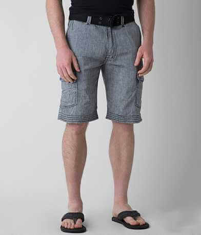 Buckle Black Glow Cargo Short