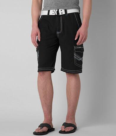 Buckle Black Shine Cargo Short