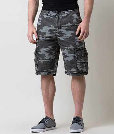 Buckle Black Grasp Cargo Short