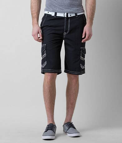 Buckle Black Vibrant Cargo Short