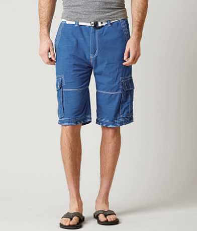 Buckle Black Muscle Cargo Short