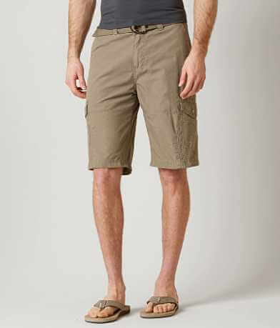 Buckle Black Dark Cargo Short