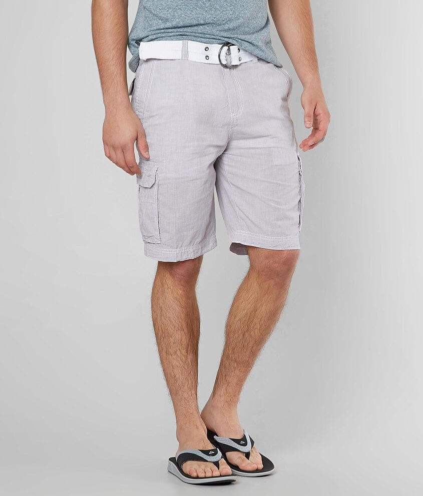 Buckle Black Mackland Cargo Short front view