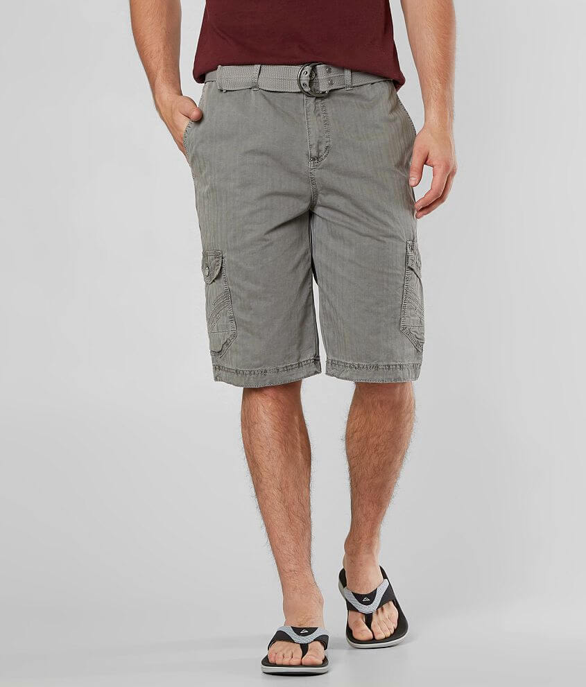 Buckle Black Royale Cargo Short front view