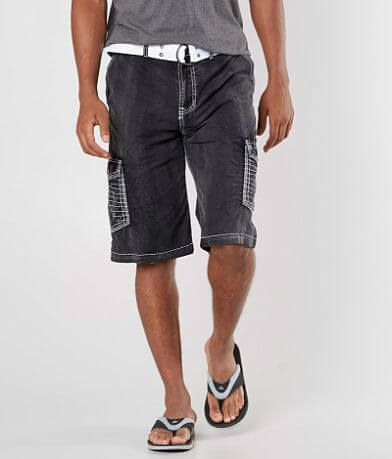 Buckle Black Fred Cargo Stretch Short