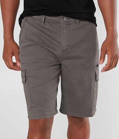 Buckle Black Gus Cargo Stretch Short