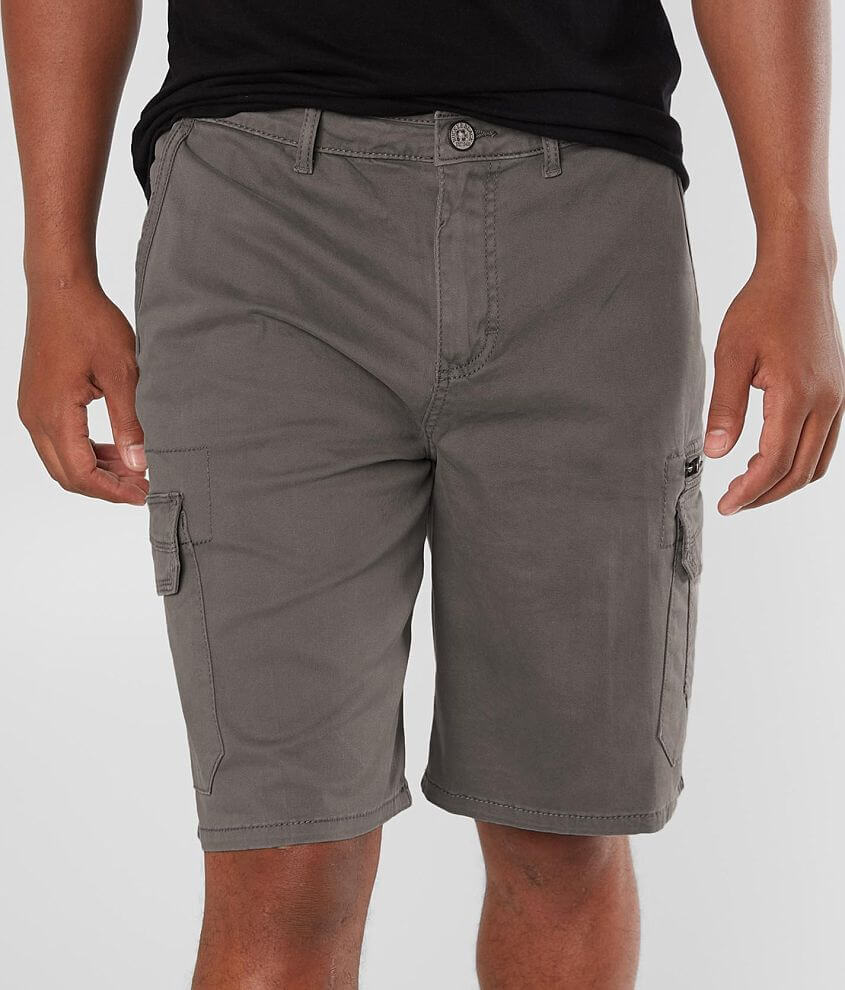 Buckle Black Gus Cargo Stretch Short front view